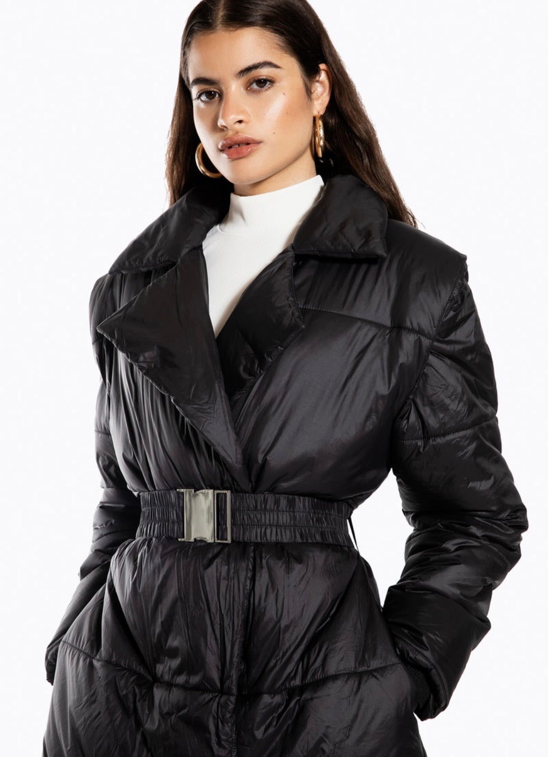 Ivyrevel Quilted Coat Black - Mojo Independent Store