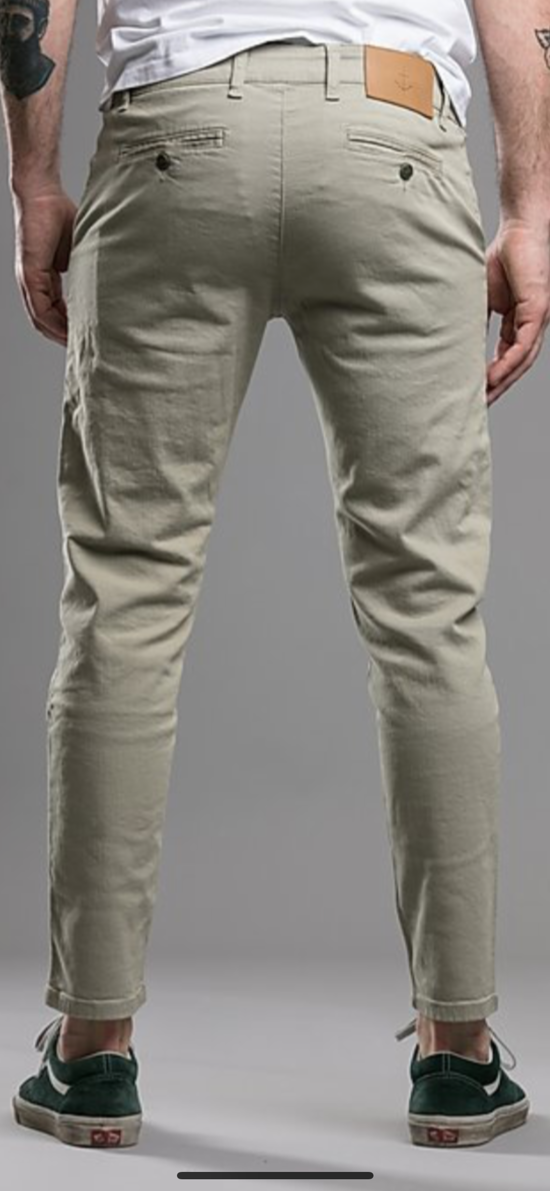 The Blue Uniform Bernta Chino 2.0 Khaki - Mojo Independent Store