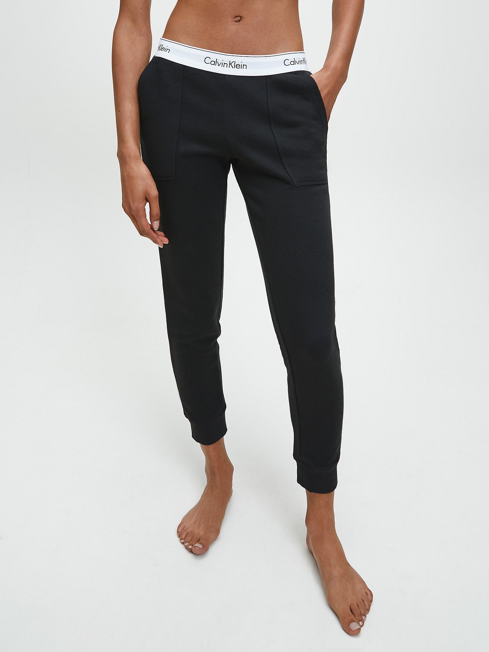 Calvin Klein Modern Cotton Pants Black