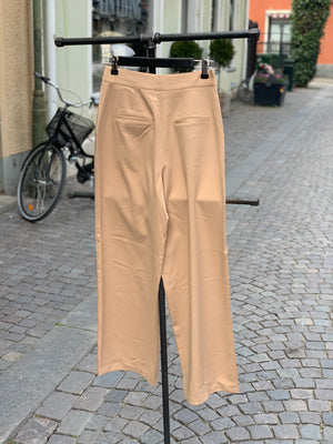 NA-KD Wide Pants Beige - Mojo Independent Store