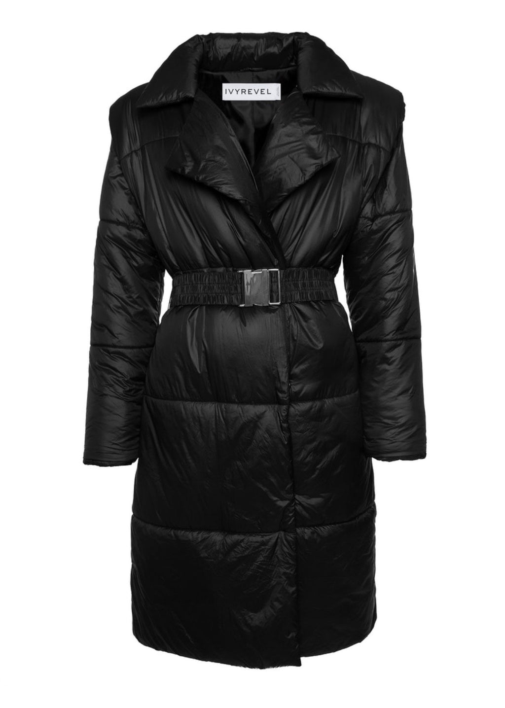 Ivyrevel Quilted Coat Black