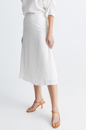 Stylein Ivory Skirt White - Mojo Independent Store