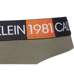 Calvin Klein 1981 thong Army Dust - Mojo Independent Store