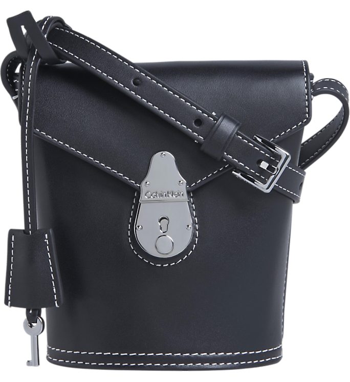 Calvin Klein Lock Bucket Micro Black - Mojo Independent Store
