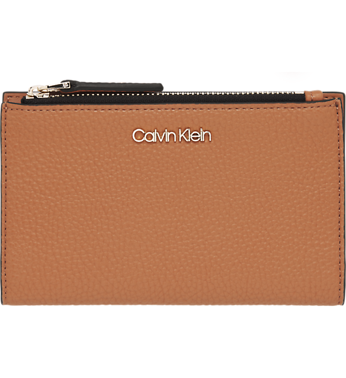 Calvin Klein Sided Cardholder Wallet Cuoio - Mojo Independent Store