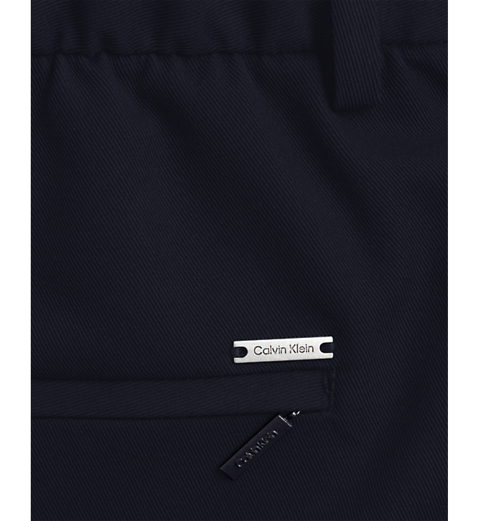 Calvin Klein Light Techno Tapered Trouser Navy - Mojo Independent Store