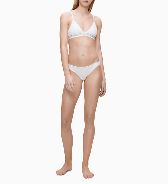 Calvin Klein Unlined Triangle White - Mojo Independent Store