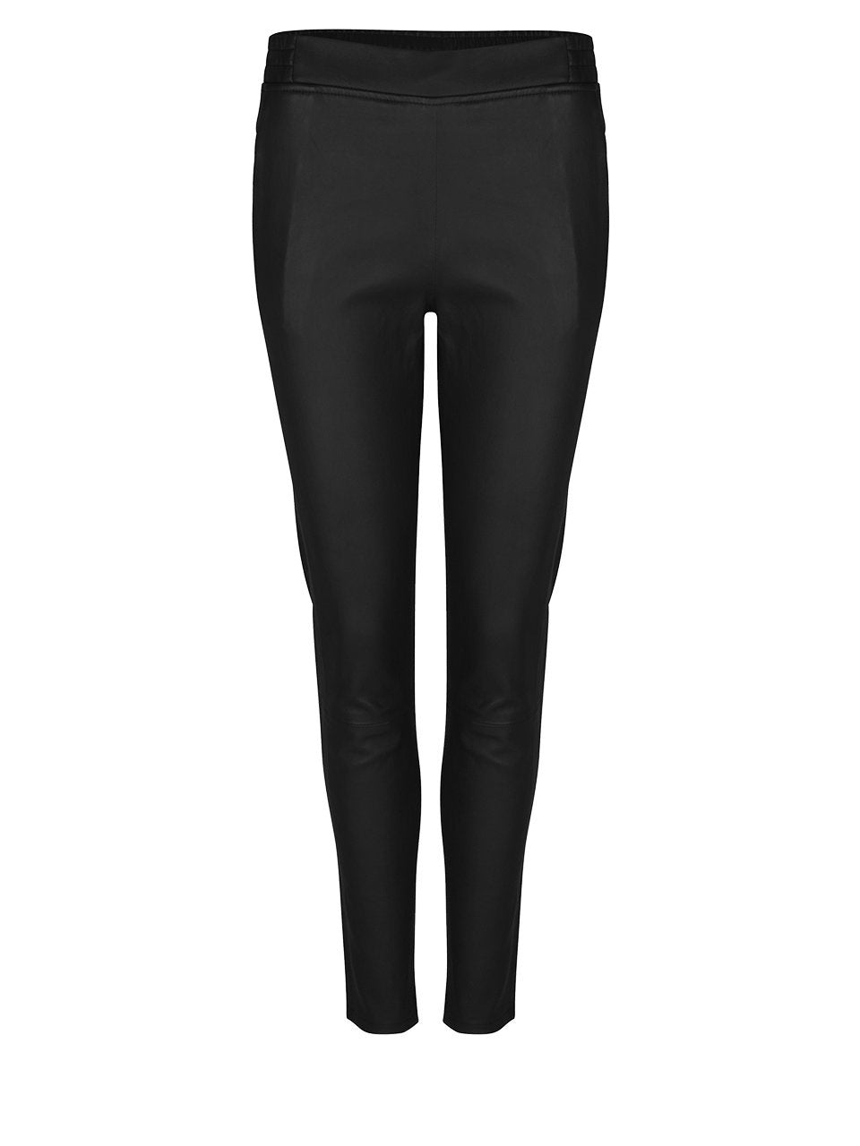 Dante6 Lebon Stretch Leather Pants Black