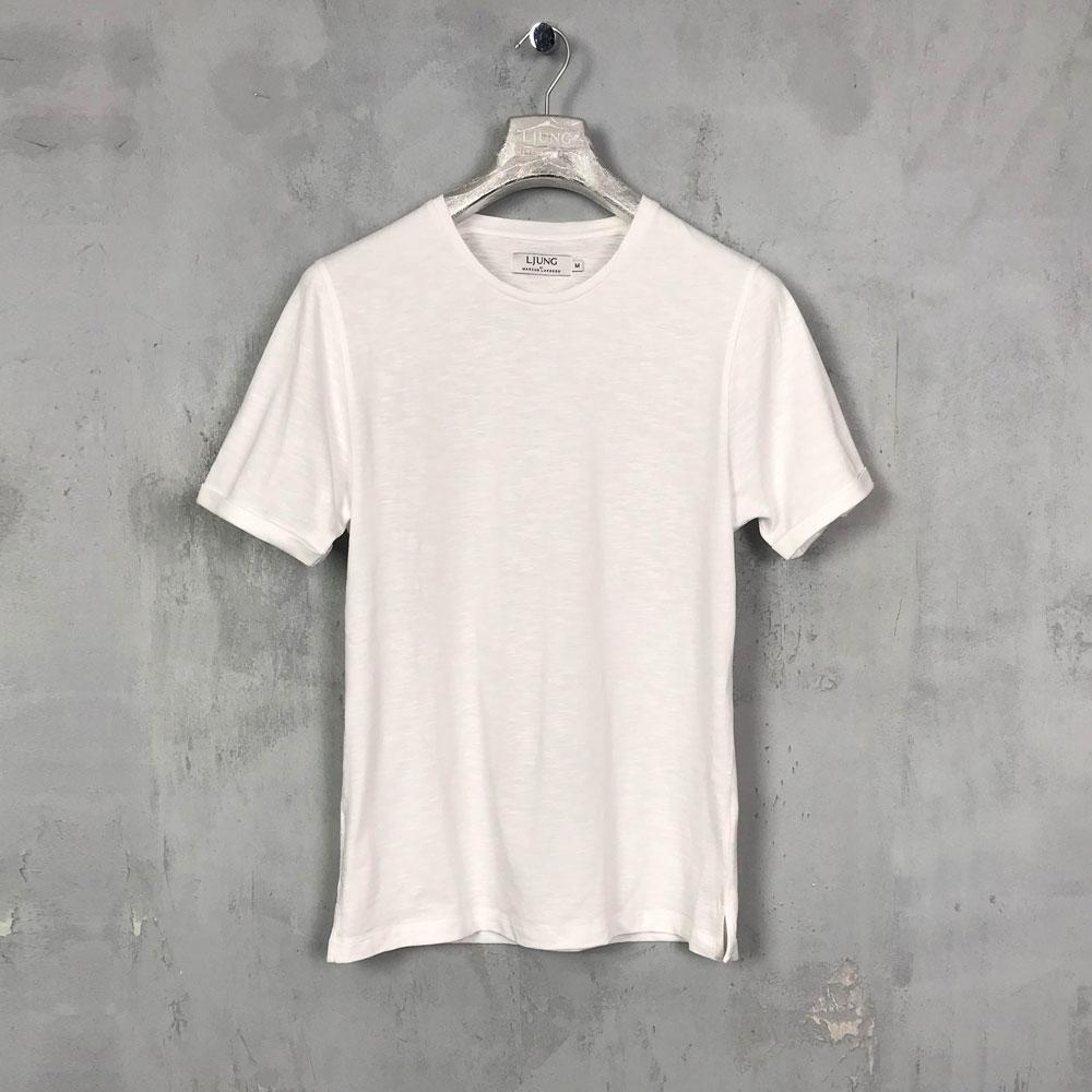 Ljung Core Tee White