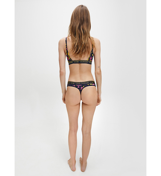 Calvin Klein Thong Sweet Rosie Print - Mojo Independent Store