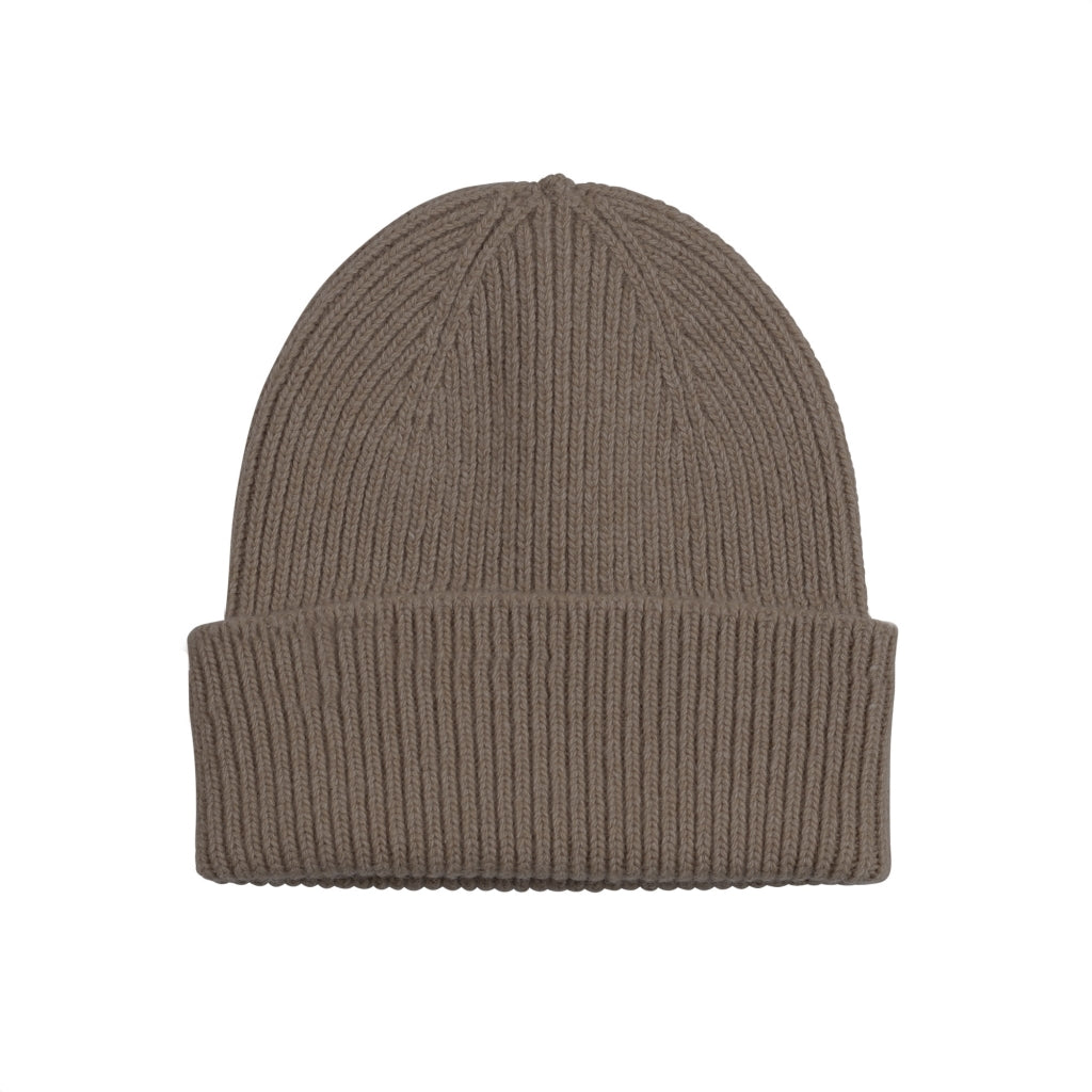 Colorful Standard Merino Wool Hat Warm Taupe