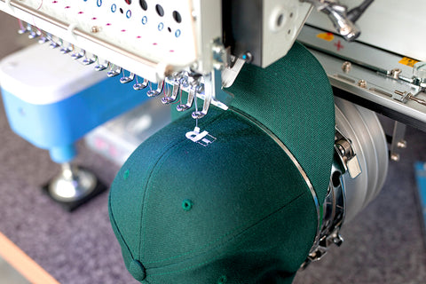 Fernweh Gear Embroidered Hat Production