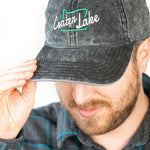 Crater Lake - Distressed Dad Hat - Fernweh Gear