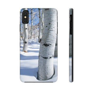Powder Aspen - Rugged iPhone Case
