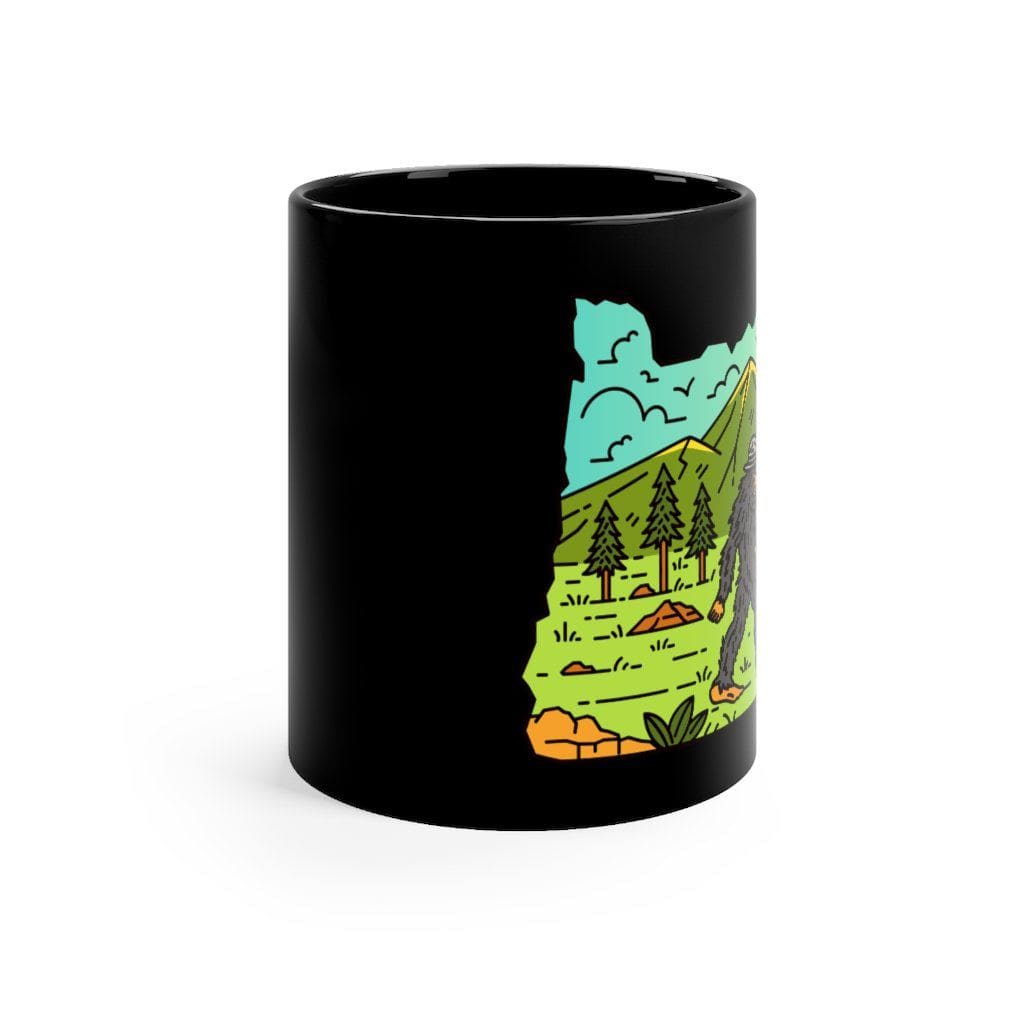 Steward Sas Oregon - Black Ceramic Mug 11oz