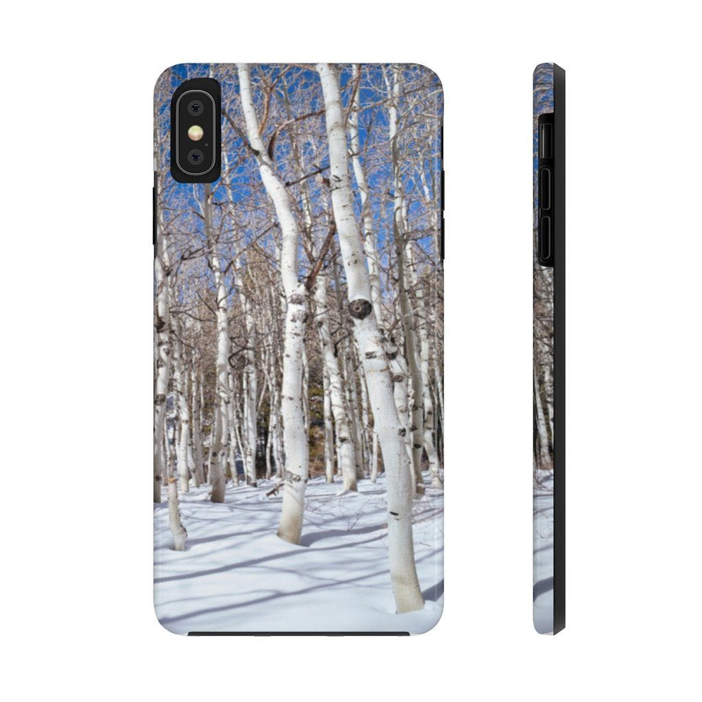 Winter Aspen - Rugged iPhone Case