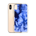 The Jellies slim iPhone X/XS ocean themed phone case by Fernweh Gear