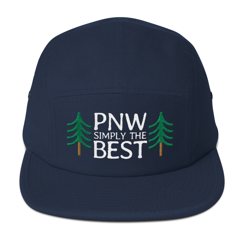PNW Simply The Best - 5-Panel Cap (White Text) - Fernweh Gear