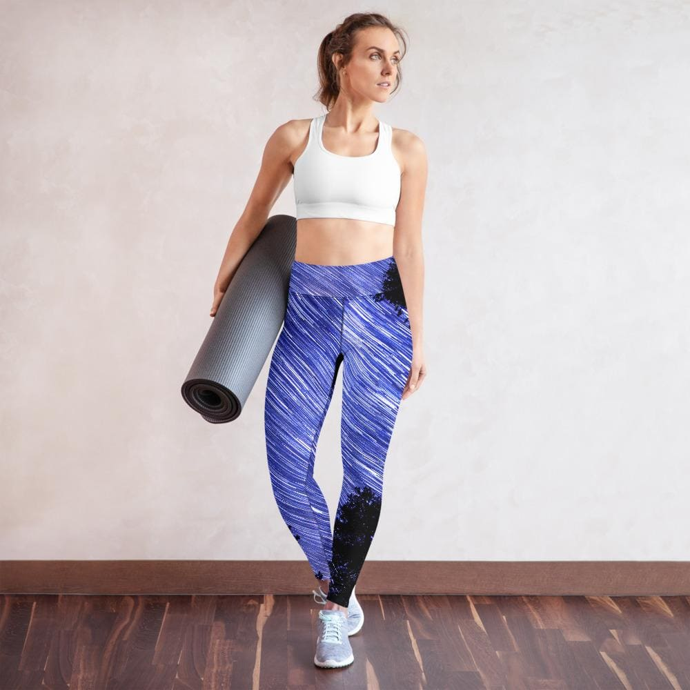 Cosmic Swirl - Women's Active Leggings