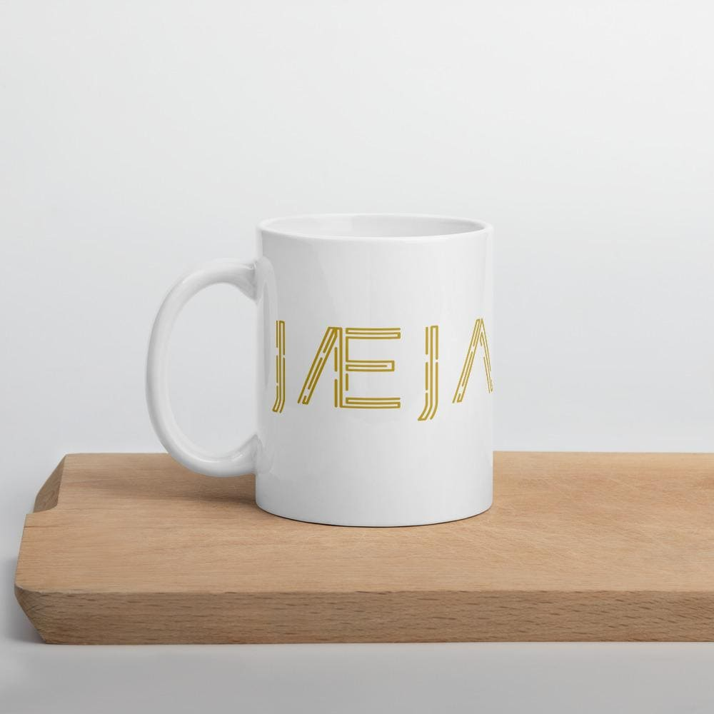 Jæja - White Ceramic Mug