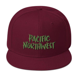 PNW Branches - Wool Blend Snapback Hat - Fernweh Gear