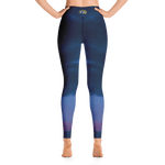 Dusk Moonrise - Women's Active Leggings - Fernweh Gear