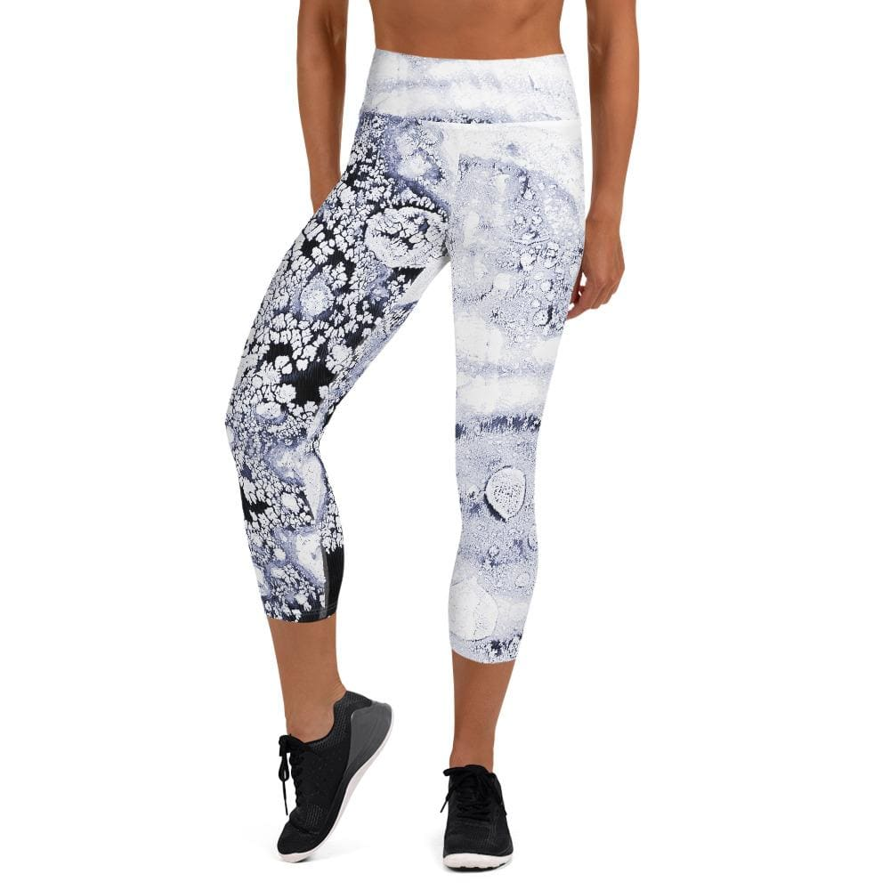 Deep Freeze - Women's Active Capri Leggings
