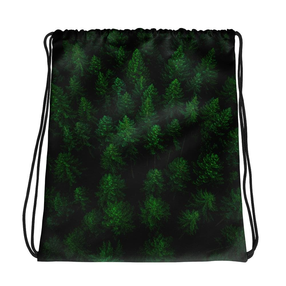 Woken Pine - Drawstring Backpack