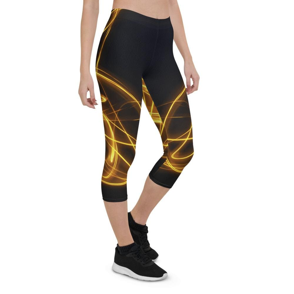 Bulb -  Women's Active Capri Leggings