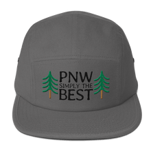 PNW Simply The Best - 5-Panel Cap (Black Text)