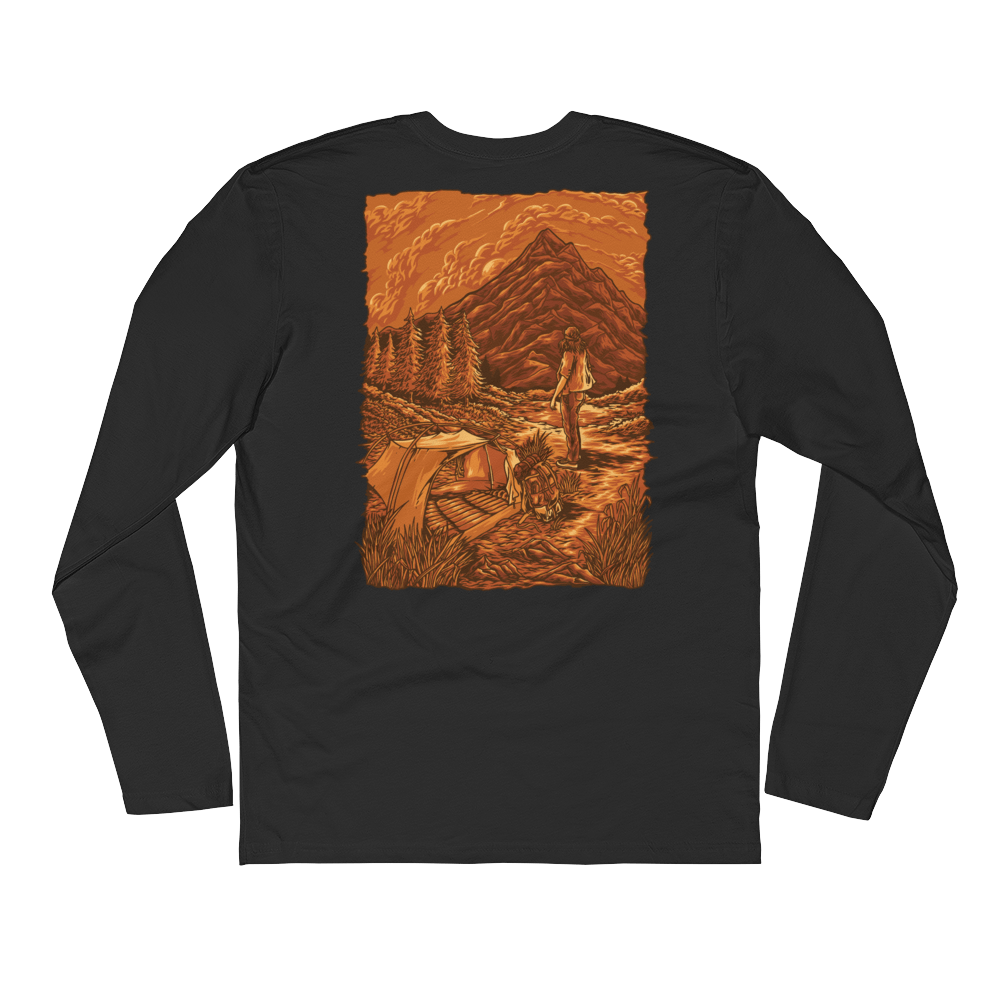 Cascade Solitude - Unisex Long Sleeve Shirt