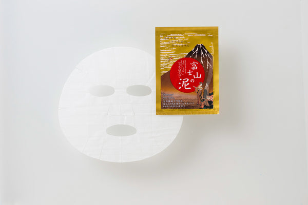 HIJIRIKO Face Mask With Mt. Fuji volcanic mud