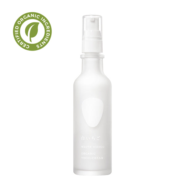 WHITE ICHIGO Organic Tech Cream with Brightening Effect