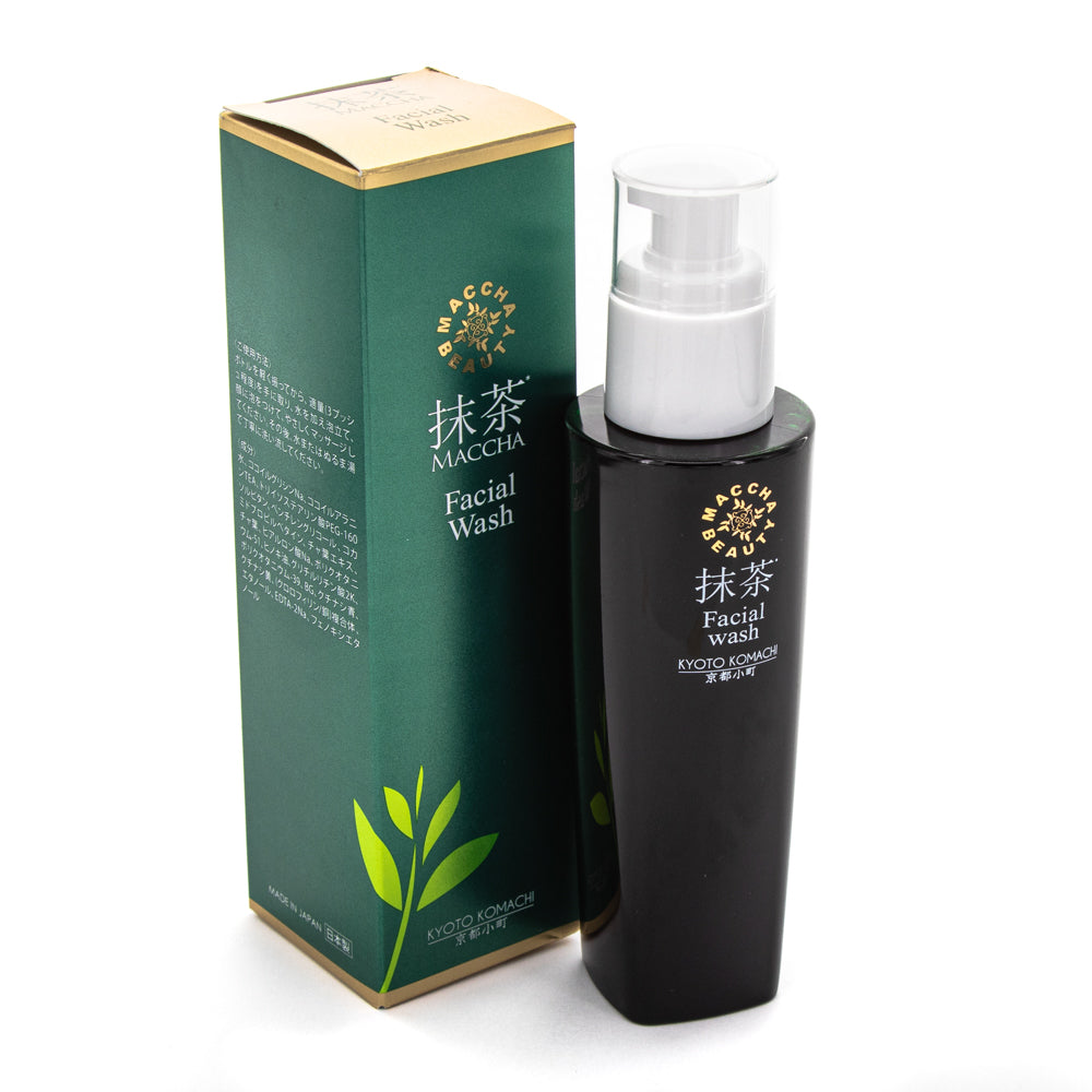 KYOTO KOMACHI Matcha Beauty Facial Wash
