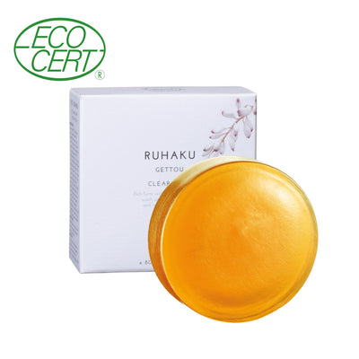 Ruhaku clear soap for face japanese face wash japanese skincare products bare japan