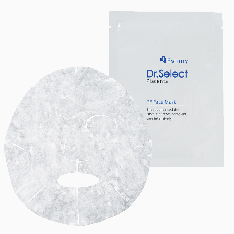 DR. SELECT PF Placenta and Fullerene Face Mask