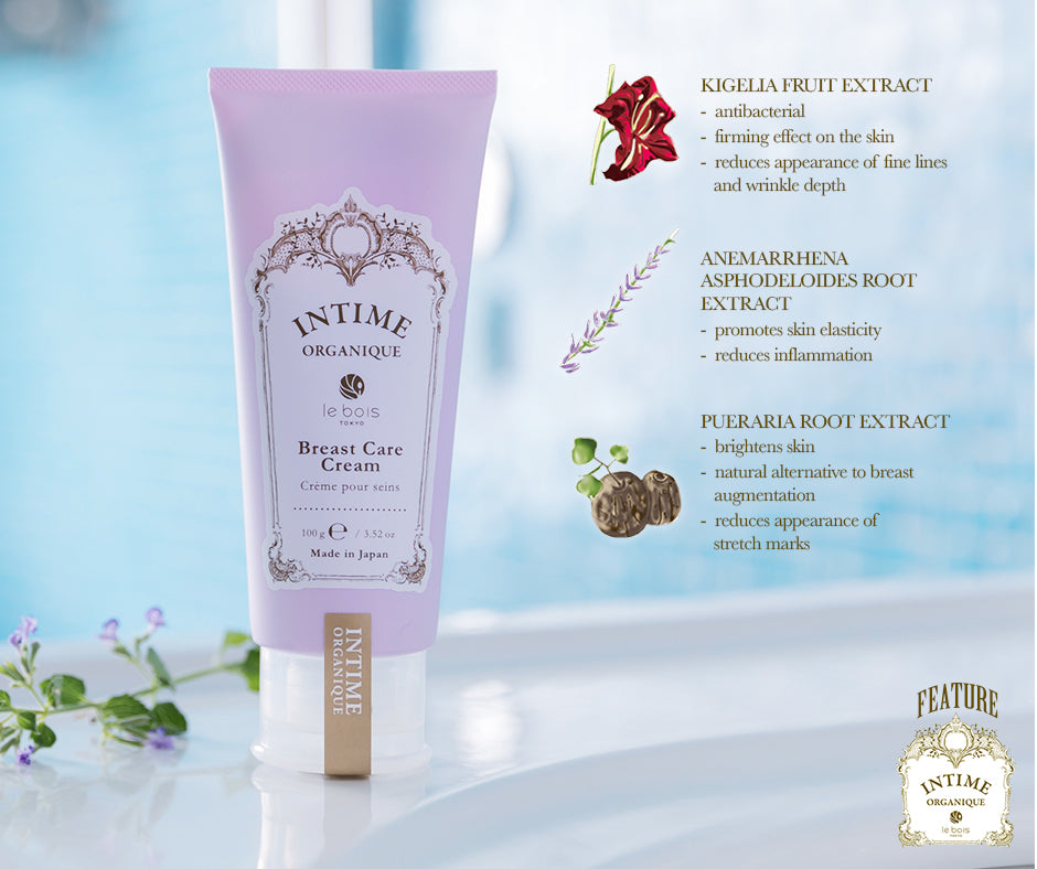 INTIME ORGANIQUE Bosom Care Cream