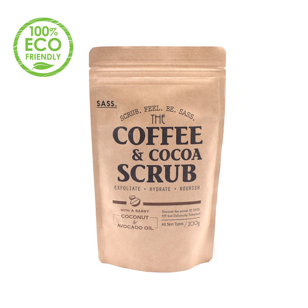 SASS Coffee & Cocoa Body Scrub