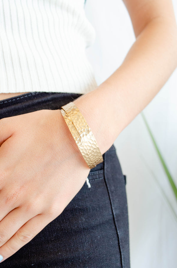 Double Gold Cuff