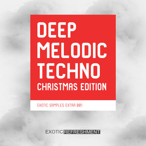 Deep Melodic Techno Christmas Edition - Sample Pack