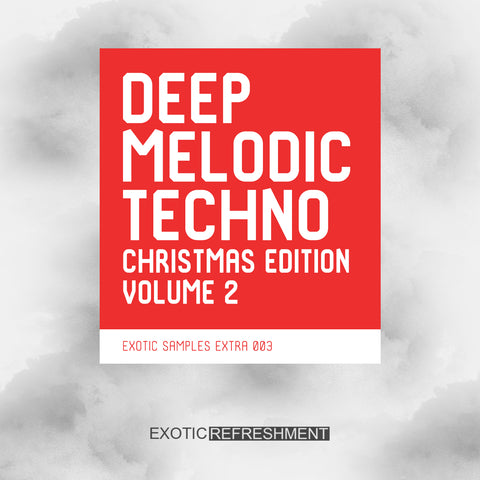 Deep Melodic Techno Christmas Edition vol. 2 - Sample Pack