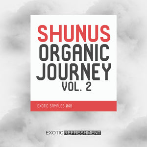 Shunus Organic Journey vol. 2 - Sample Pack