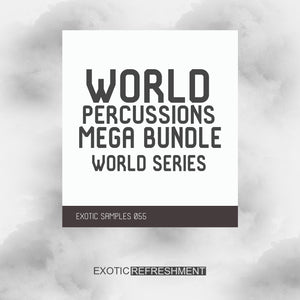 World Percussions Mega Bundle - World Series - Drum Sample Pack