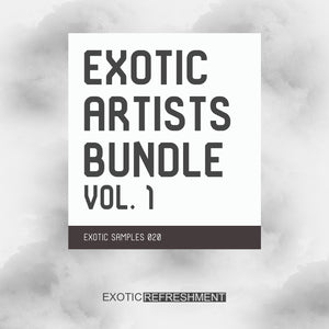 Exotic Artists Bundle vol. 1 - Sample Pack