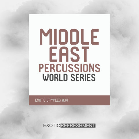 Middle East Percussions - World Series - Drum Sample Pack