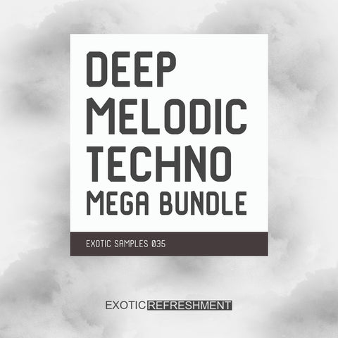Deep Melodic Techno Mega Bundle - Sample Pack