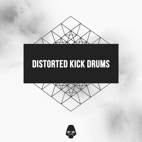 Distorted Kick Drums - Drum Sample Pack