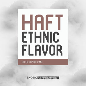 HAFT Ethnic Flavor - Sample Pack