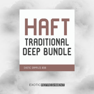 HAFT The Traditional Deep Bundle - Sample Pack