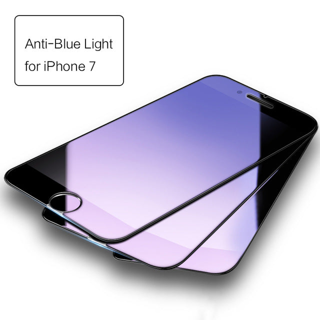 iPhone 6 7 plus, ROCK Anti-blue/High Clear Screen Protector Glass for iPhone 7 6 6s plus 3pcs set